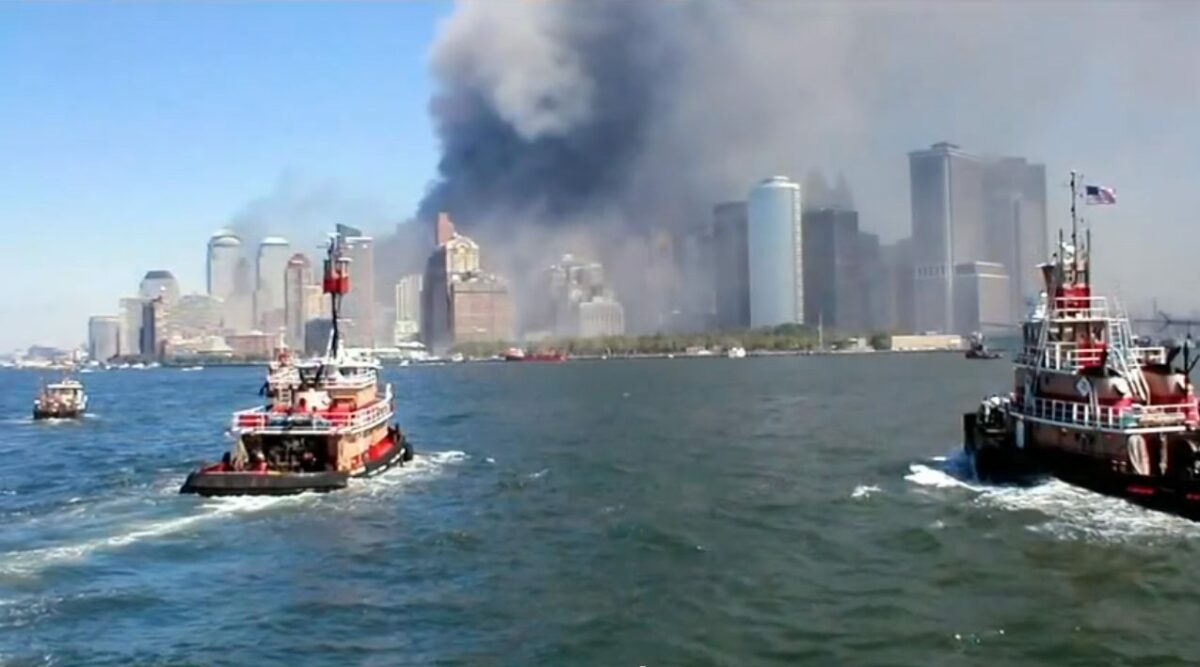 The 9/11 boat lift was the largest sea evacuation in history. (Photo: INSH)