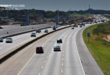 I-22 flyover ramps being constructed on I-65. (Photo: Alabama Department of Transportation)