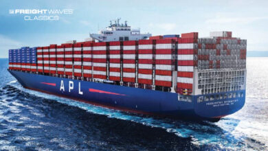 An APL containership. (Photo: APL Facebook page)