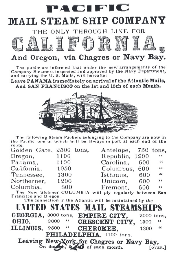 A Pacific Mail advertisement. (Image: The Earl of Cruise)