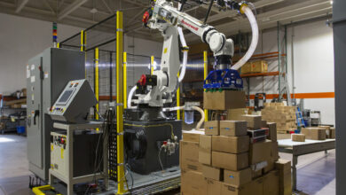 Honeywell launches a new robot to automate case pickind and reduce warehouse injuries while boosting efficiency