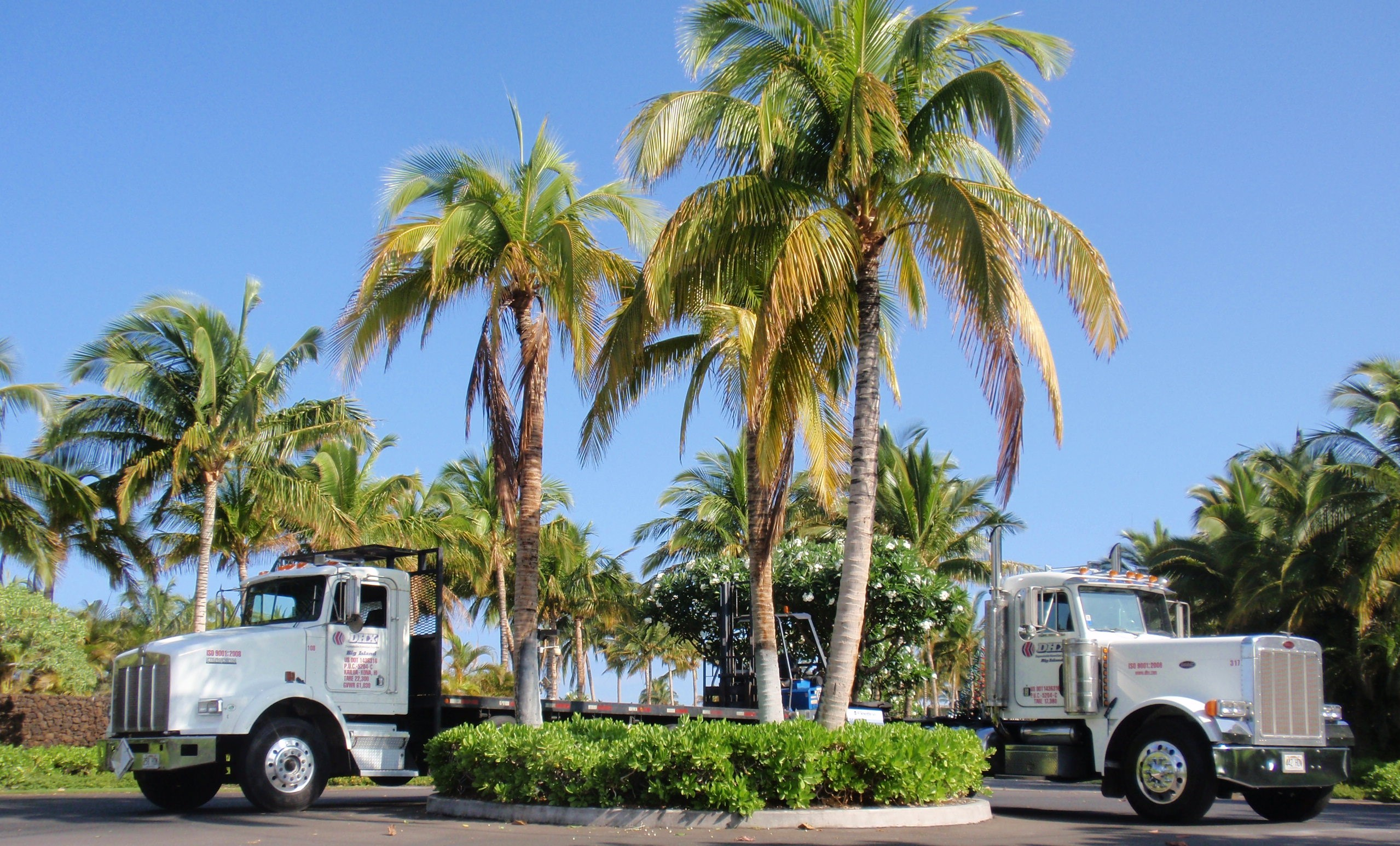 Trucking in Hawaii isn't quite the paradise it may seem.
