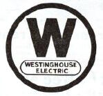 The Westinghouse Electric logo at the time the bridge was opened. (Image: Logopedia)