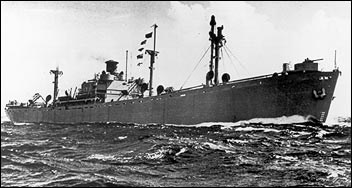 Victory and Liberty ships built during World War I and World War II helped the U.S. move war materiel around the world. (Photo: National Park Service)