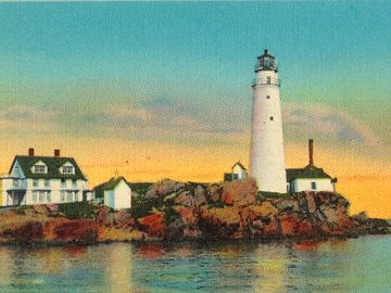 """The Boston Light """"complex."""" (Photo: National Trust for Historic Preservation)"""