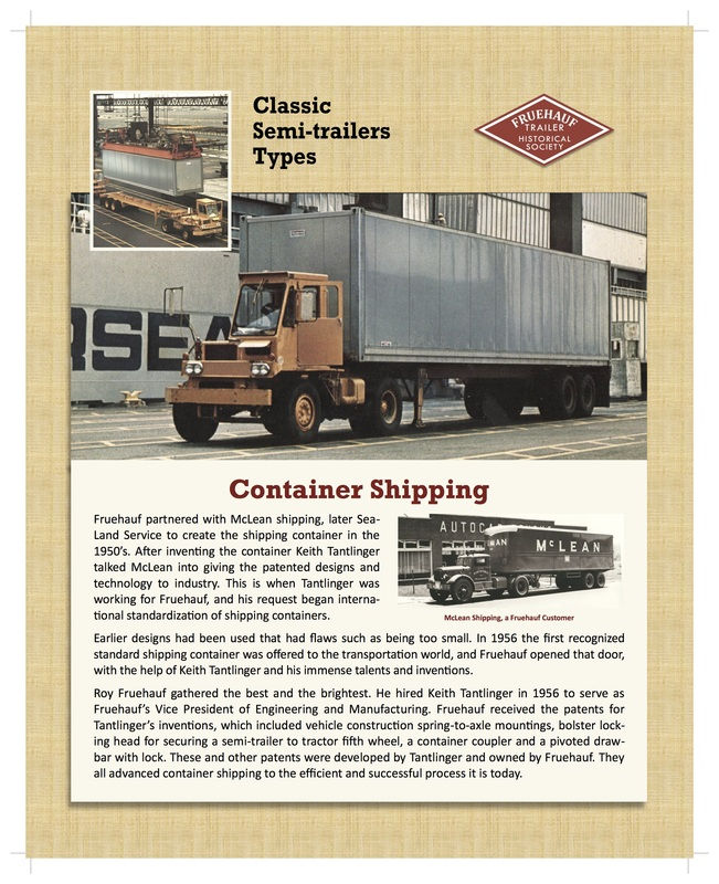 Photos and an explanation of container shipping. (Photo/text: singingwheels.com)