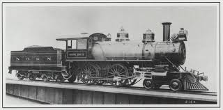 A Gulf, Mobile & Northern locomotive and tender. (Photo: jstor.org)