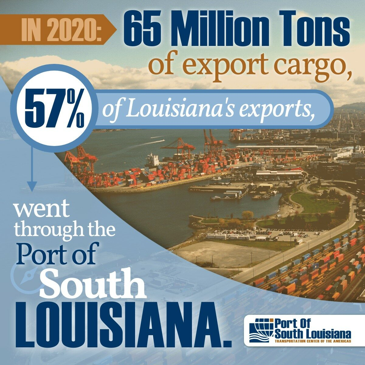The cover of a recent Port of South Louisiana publication. (Photo: Port of South Louisiana Facebook page)