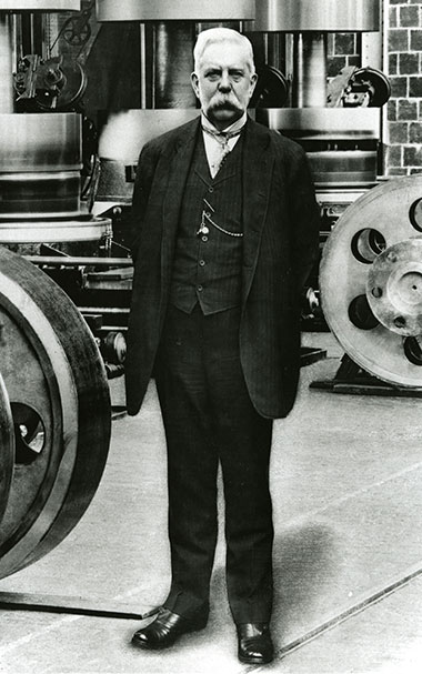George Westinghouse (Photo: Westinghouse Nuclear)