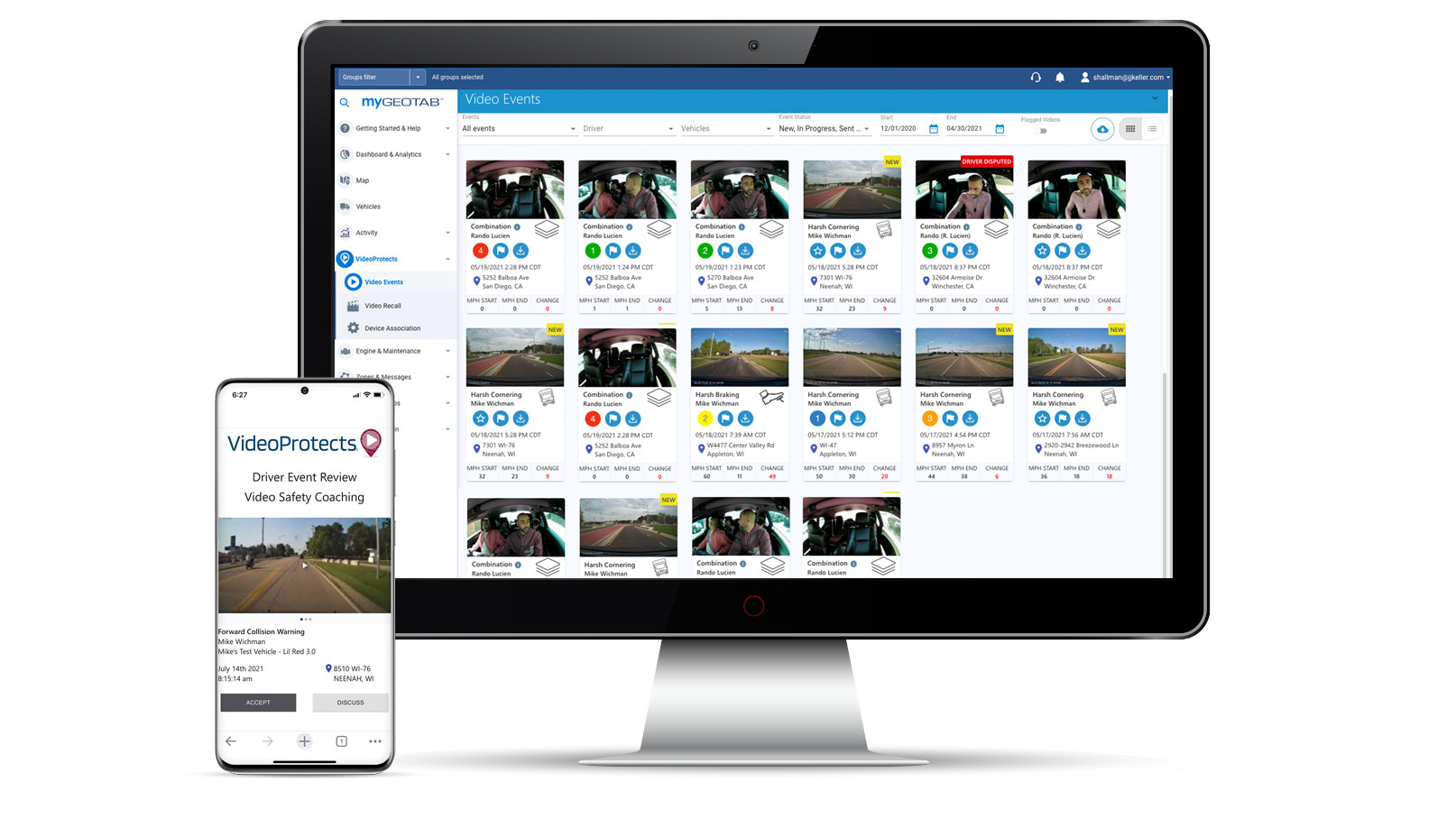 video protects mygeotab software.