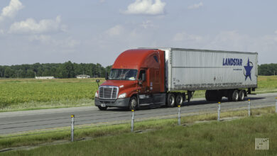 Rates not likely to pull back to 2016, 2017 levels, according to Landstar CEO Jim Gattoni