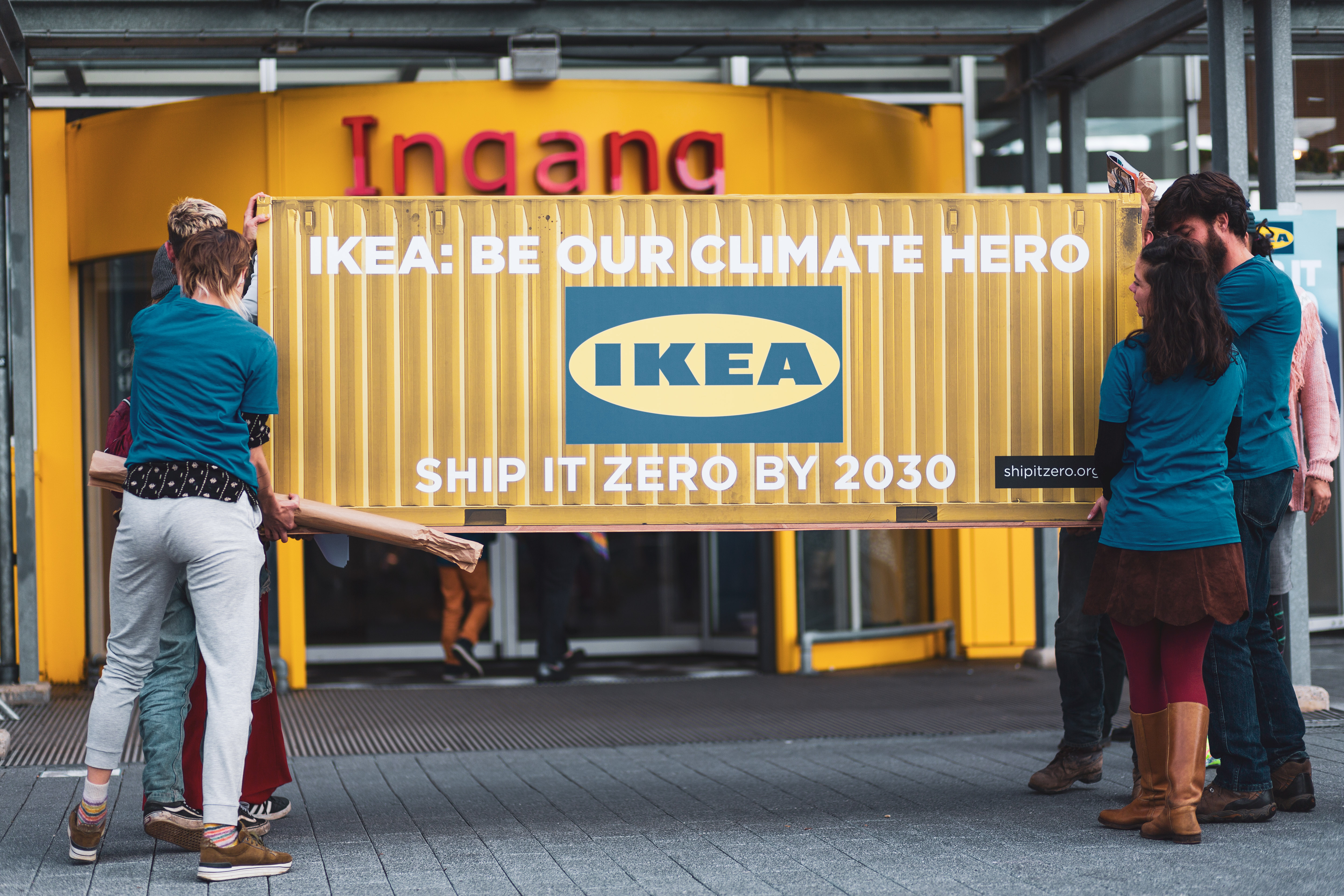 Ship It Zero calls on Ikea to reach zero-emissions shipping by 2030.