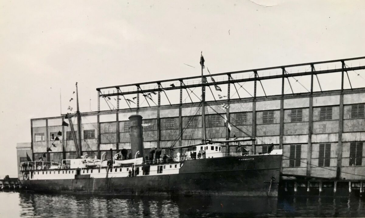 The S.S. Yarmouth, renamed Frederick Douglass, was the Black Star Line's first ship. From the R. Loren Graham Collection, SSHSA Archives.