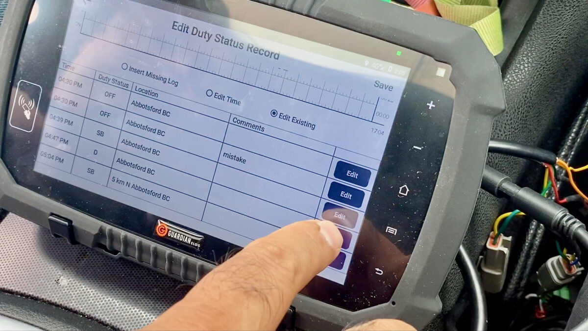 Canada ELD tester investigated as video claims device can be cheated
