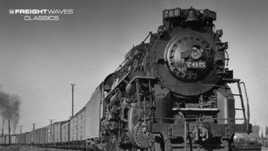 A Nickel Plate Line locomotive leads a freight train. (Photo: Fort Wayne Railroad Historical Society)