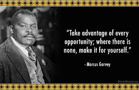One of Garvey's famous quotes. (Image: BlackAlliance.org)